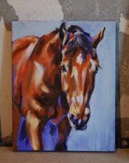 Beckon - Study #2, 8x10 oil on canvas