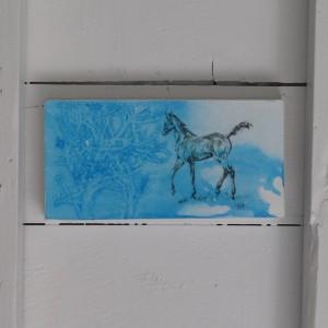 'Amherst' - 6x12 image transfer print
